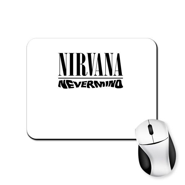 Коврик для мыши Группа Nirvana Nevermind