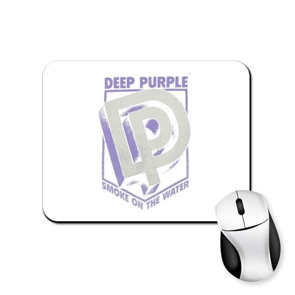 Коврик для мыши Deep Purple лого 3D
