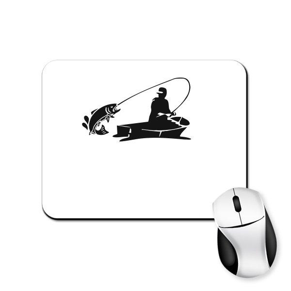 Коврик для мыши Клевая Рыбалка