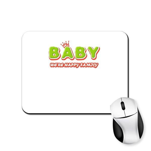 Коврик для мыши Ребенок счастливой семьи