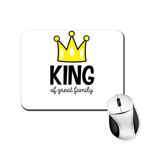 Коврик для мыши Король большой семьи
