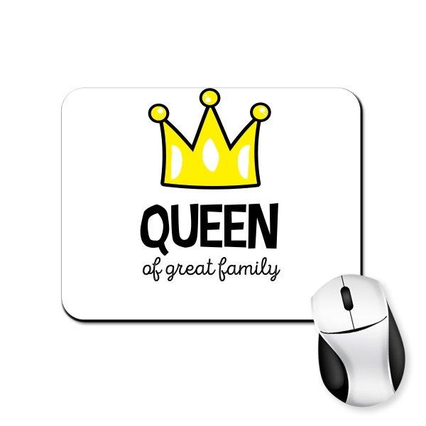 Коврик для мыши Королева большой семьи