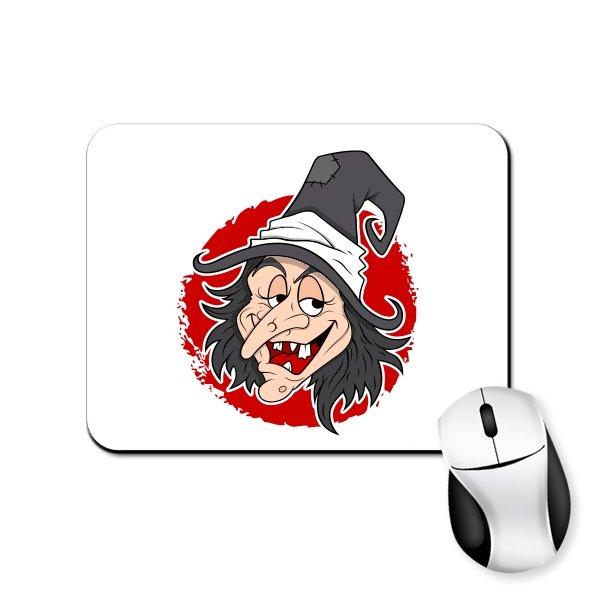 Коврик для мыши С Ведьмой