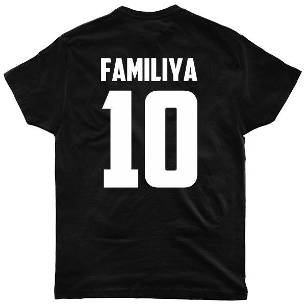 Мужская футболка Фамилия и Номер