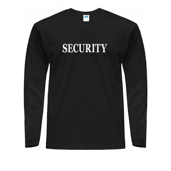 Мужской лонгслив Security