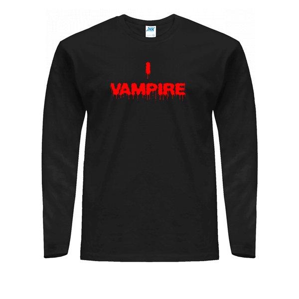 Мужской лонгслив Я Вампир
