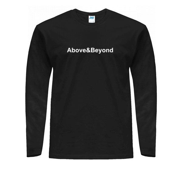 Мужской лонгслив Above & Beyond