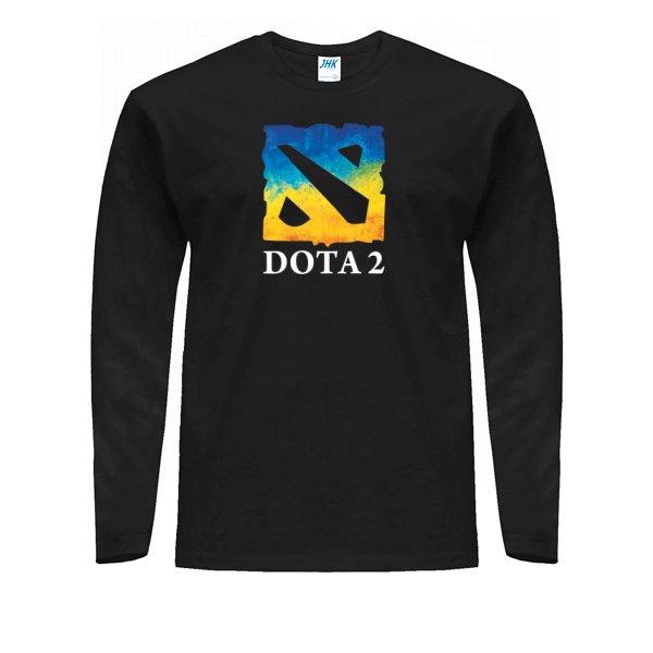 Мужской лонгслив Dota 2 Ukraine Team