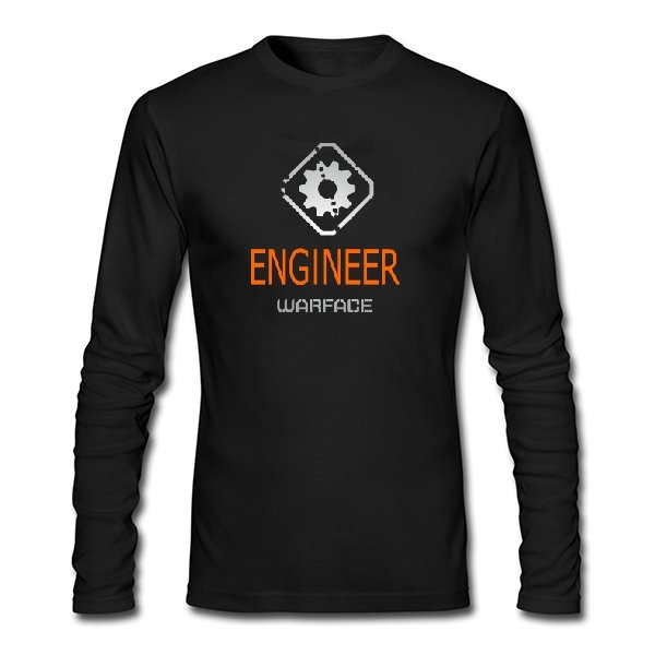 Мужской лонгслив Warface Инженер