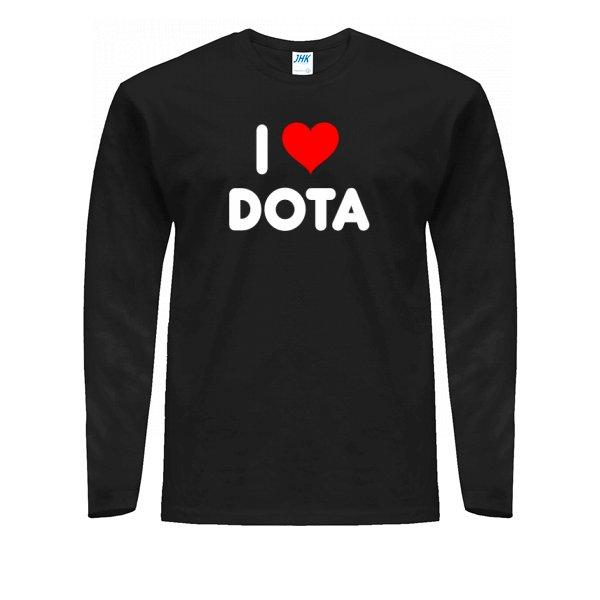 Мужской лонгслив I Love Dota