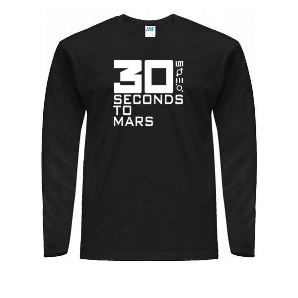 Мужской лонгслив 30 seconds to mars