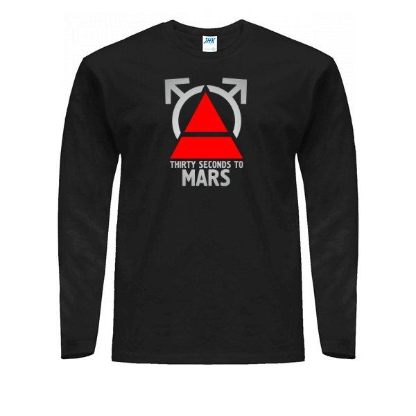 Мужской лонгслив 30 Секунд до Марса