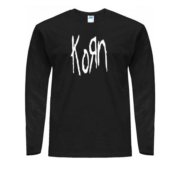 Мужской лонгслив С группой Korn