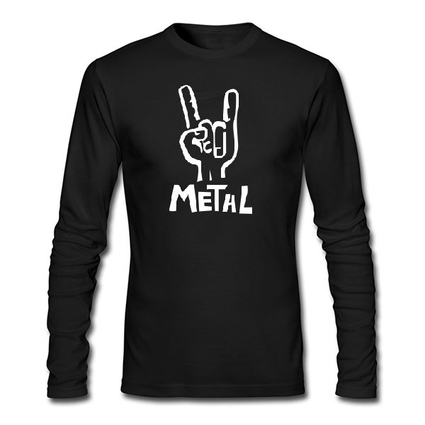 Мужской лонгслив Metal