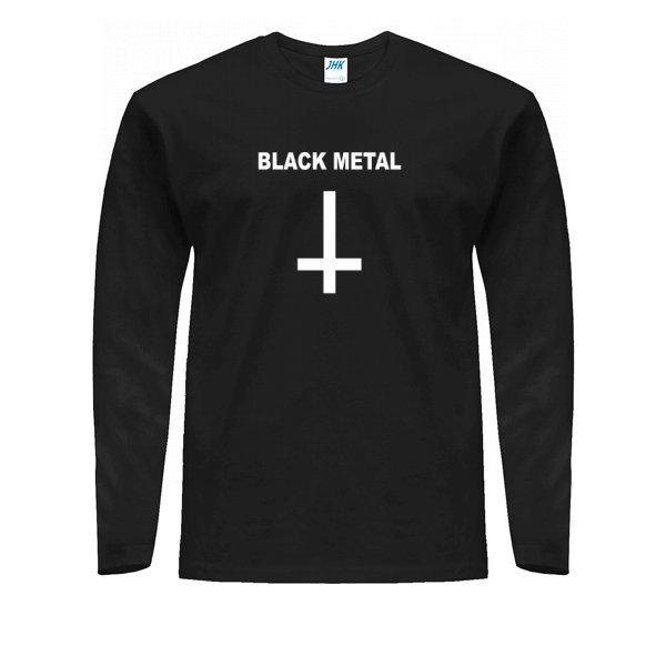 Мужской лонгслив Black Metal