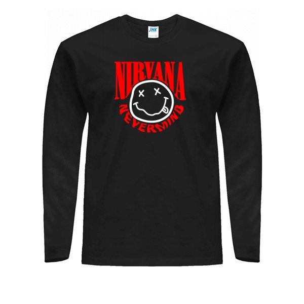 Мужской лонгслив Nirvana Nevermind