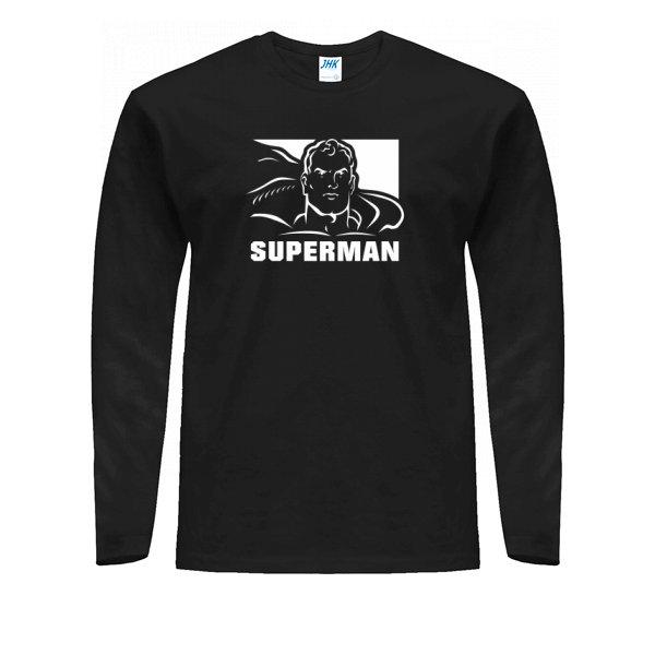 Мужской лонгслив с Суперменом