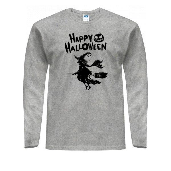 Мужской лонгслив Счастливый Хелоуин