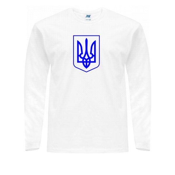 Мужской лонгслив Герб Украины