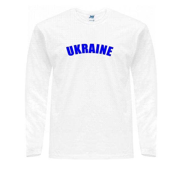 Мужской лонгслив Надпись Ukraine