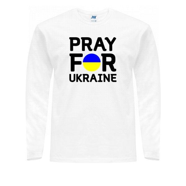 Мужской лонгслив Молись за Україну