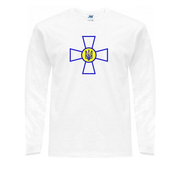 Мужской лонгслив Военный Символ Украины