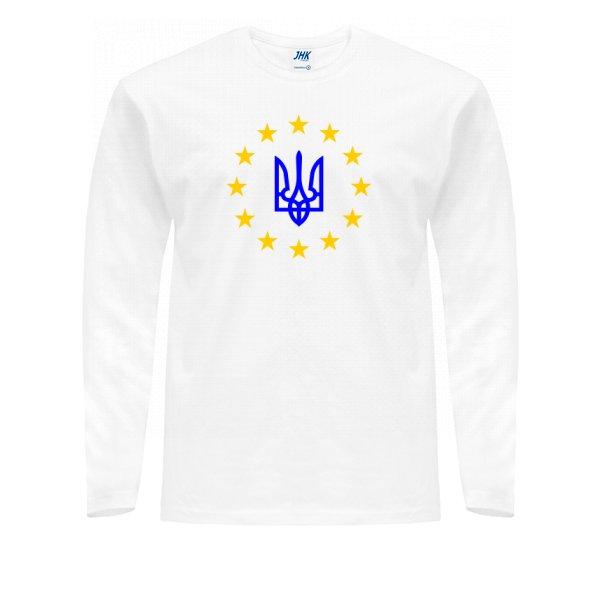 Мужской лонгслив Евро Украина