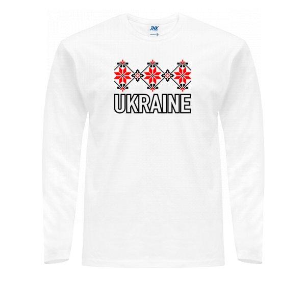 Мужской лонгслив Орнамент Ukraine