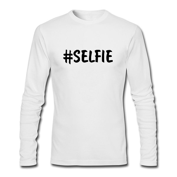 Мужской лонгслив Selfie