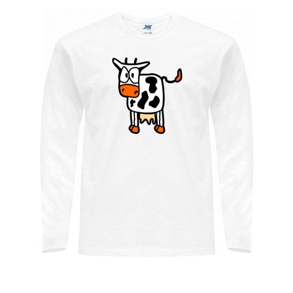 Мужской лонгслив Корова