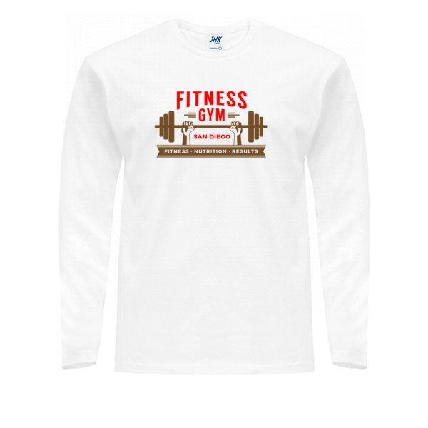 Мужской лонгслив Fitness Gym