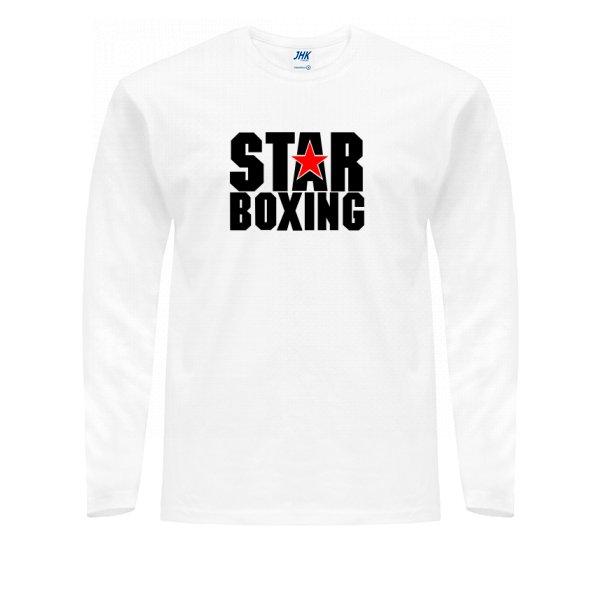 Мужской лонгслив Звезда Бокса
