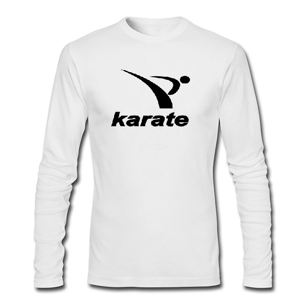 Мужской лонгслив Karate лого