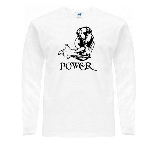 Мужской лонгслив Power