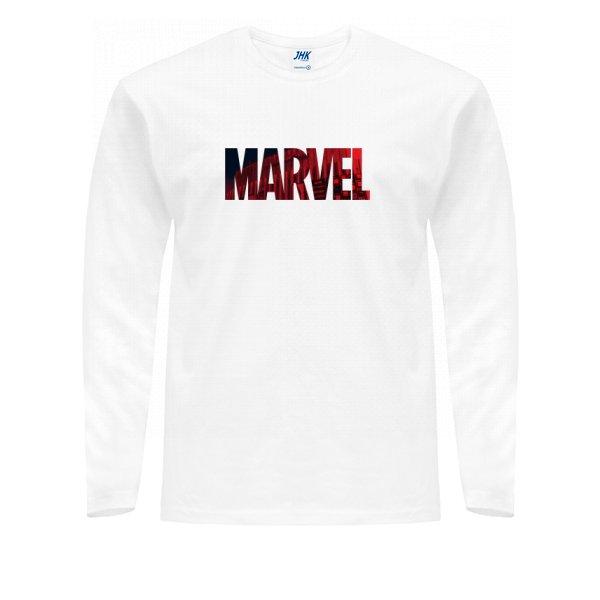 Мужской лонгслив Marvel logo