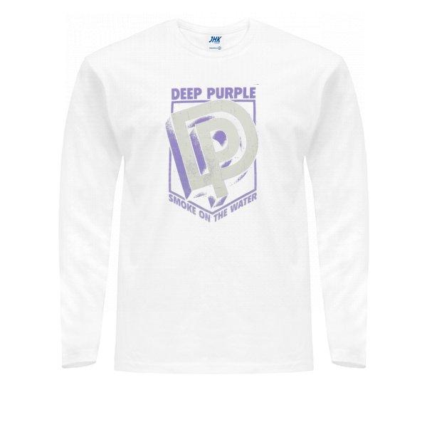 Мужской лонгслив Deep Purple лого 3D