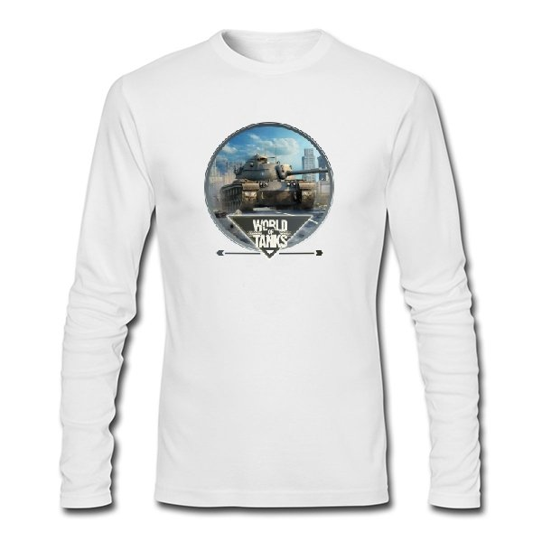Мужской лонгслив World of Tanks прицел