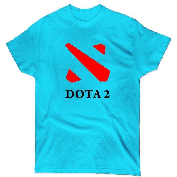 Мужская футболка Dota 2 контур