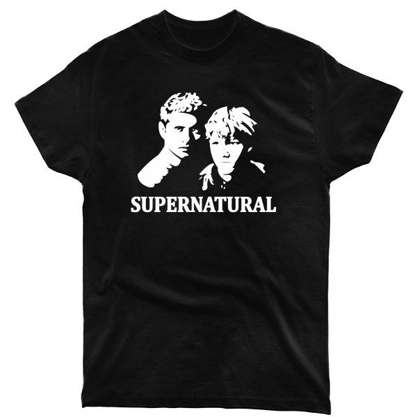 Мужская футболка Supernatural Лица