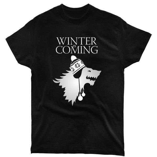 Мужская футболка Зима Близко