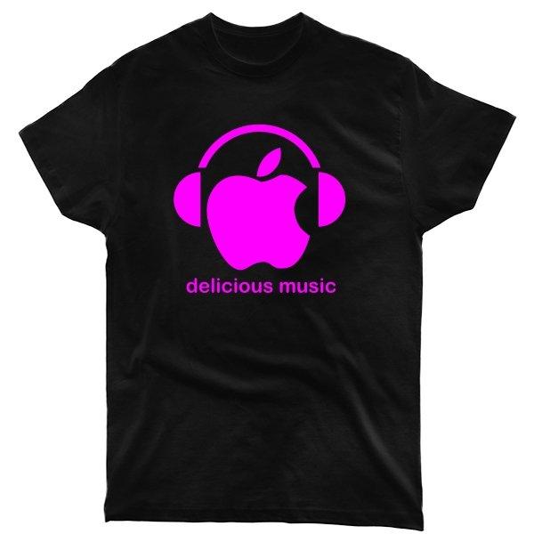 Мужская футболка Delicious music