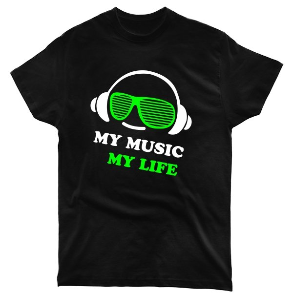 Мужская футболка Моя Музыка - Моя Жизнь