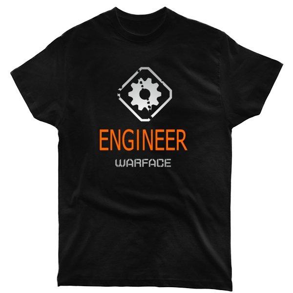 Мужская футболка Warface Инженер