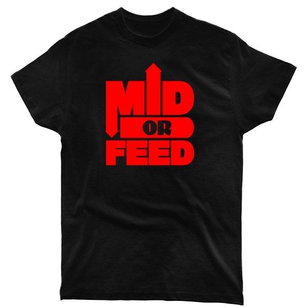 Мужская футболка Mid or Feed