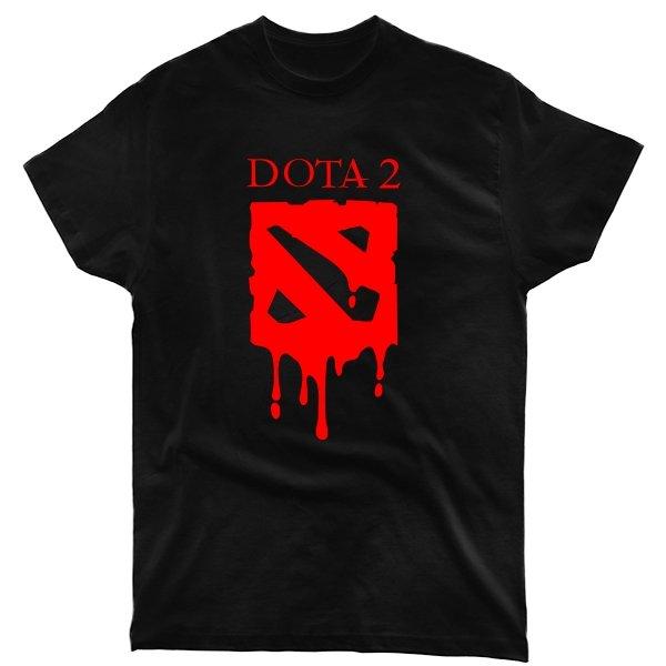 Мужская футболка Кровавая Дота-2