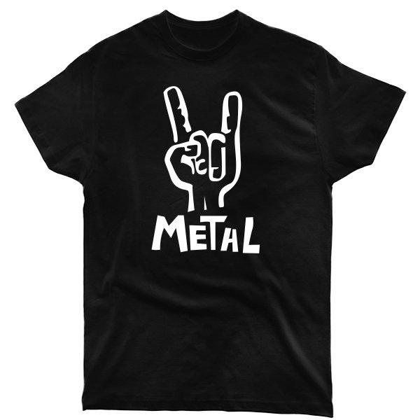 Мужская футболка Metal