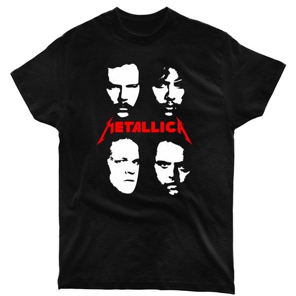 Мужская футболка Metallica лица