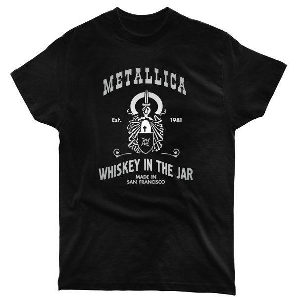 Мужская футболка с Металликой
