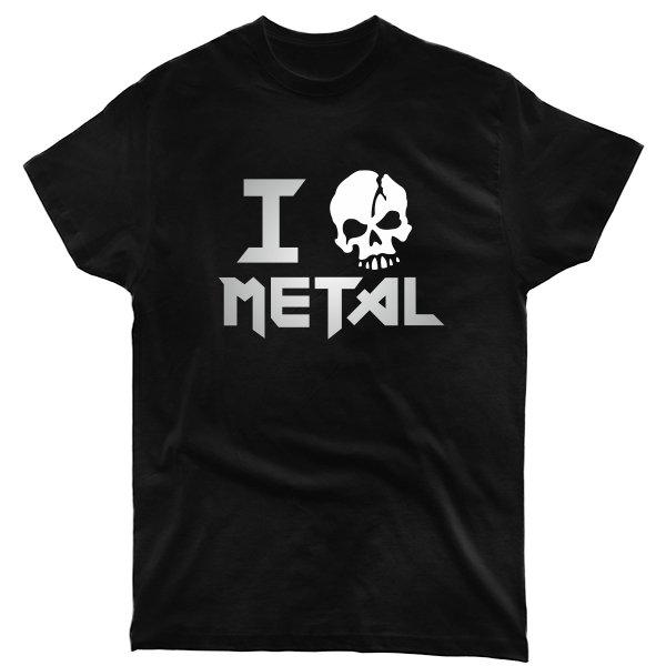 Мужская футболка Я Люблю Метал