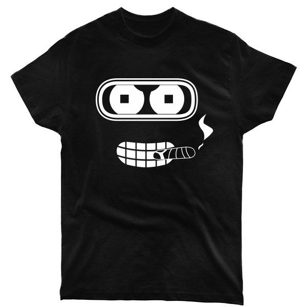 Мужская футболка Бендер с Сигарой